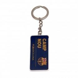 """FC Barcelona kľúčenka kovová """"Camp Nou"""""""