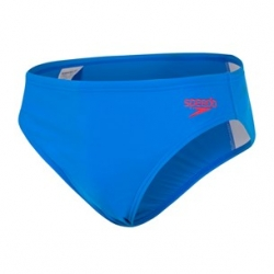 Speedo ESSENTIAL BOYS 6,5CM LOGO BRIEF C766 brilliant blue/fed red