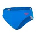 Speedo ESSENTIAL BOYS 6,5CM LOGO BRIEF C766 brilliant blue/fed red