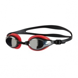Speedo MARINER SUPREME MIRROR B990 lava red/black/chrome