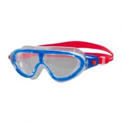 Speedo BIOFUSE RIFT MASK JUNIORC811 lava red/beautiful blue/clear