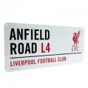 "Liverpool FC TABUĽA ""ANFIELD ROAD"" white"