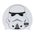 Speedo SLOGAN PRINT CAP JUNIOR STAR WARS C632 white/black