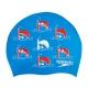 Speedo SLOGAN PRINT CAP JUNIOR C524 bondi/lava red/white