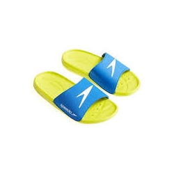 Speedo ATAMI CORE SLIDE JUNIOR D443 bright zest/brilliant blue/white