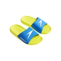 Speedo ATAMI CORE SLIDE JUNIOR D443 bright zest/brilliant blue/white