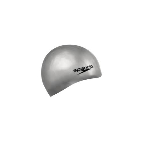Speedo Plain Moulded Silicone cap 9086 chrome