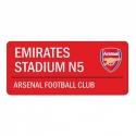 "Arsenal FC TABUĽA ""EMIRATES"""