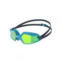 Speedo HYDROPULSE MIRROR JUNIOR D656 navy/blue bay/gold yellow