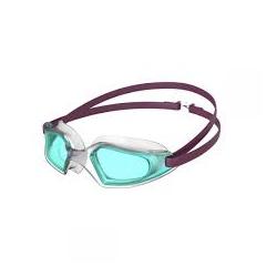Speedo HYDROPULSE D657 deep plum/clear/light blue