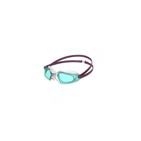 Speedo HYDROPULSE D657 deep plum/clear/light blue