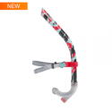 Speedo CENTER SNORKEL D699 lava red/chill blue/grey
