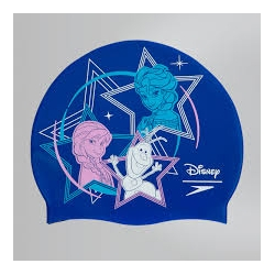 Speedo SLOGAN PRINT CAP JUNIOR DISNEY C708 beautiful blue/pink