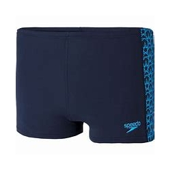 Speedo BOOMSTAR SPLICE AQUASHORT D737 true navy/pool