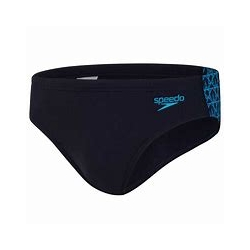 Speedo BOOMSTAR SPLICE 7CM BRIEF D737 true navy/pool