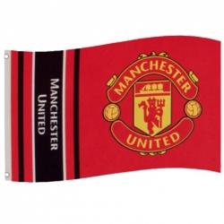 "Manchester United FC VLAJKA 152x91CM ""WORDMARK"""