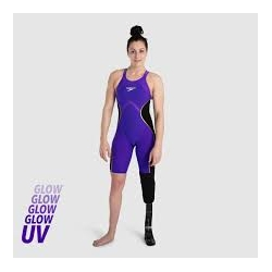 Speedo LZR PURE INTENT OPBK KNEESKIN 9190 violet/black/rose gold