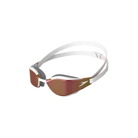 Speedo FASTSKIN HYPER ELITE MIRROR F979 white/oxid grey/rose gold
