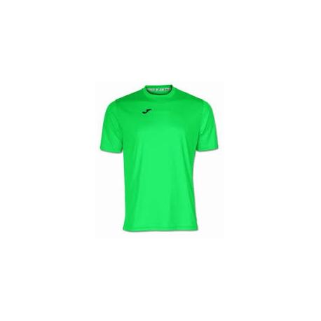 Joma COMBI T-SHIRT 020 green fluor