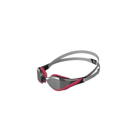 Speedo FASTSKIN PURE FOCUS MIRROR D445 silver/psycho red/black