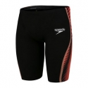 Speedo LZR PURE INTENT JAMMER F778 black / blood red / dragonfire