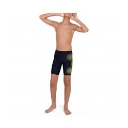 Speedo TECH PLACEMENT JAMMER F404 true navy/fluo yellow