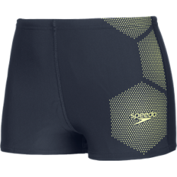 Speedo TECH PLACEMENT AQUASHORT F404 true navy/fluo yellow