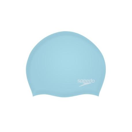 Speedo PLAIN MOULDED SILICONE CAP F944 light adriatic