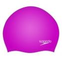 Speedo PLAIN MOULDED SILICONE CAP G133 diva/white