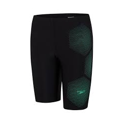 Speedo TECH PLACEMENT JAMMER D712 black/green glow