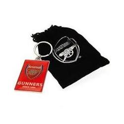 """Arsenal FC KĽÚČENKA KOVOVÁ """"THE GUNNERS"""""""
